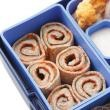 Pizza roll ups--- fun and easy lunch for kids.
