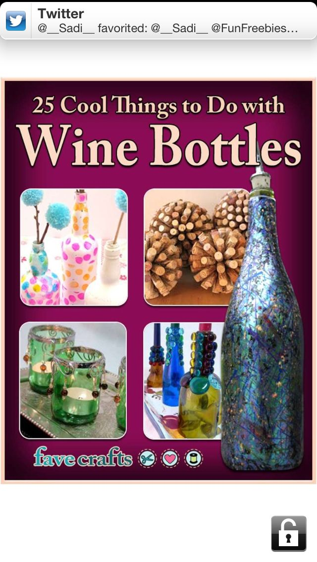 38 Best Images About Empty Bottle Crafts On Pinterest