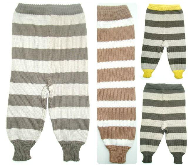 Strikkede bukser | Smuksak