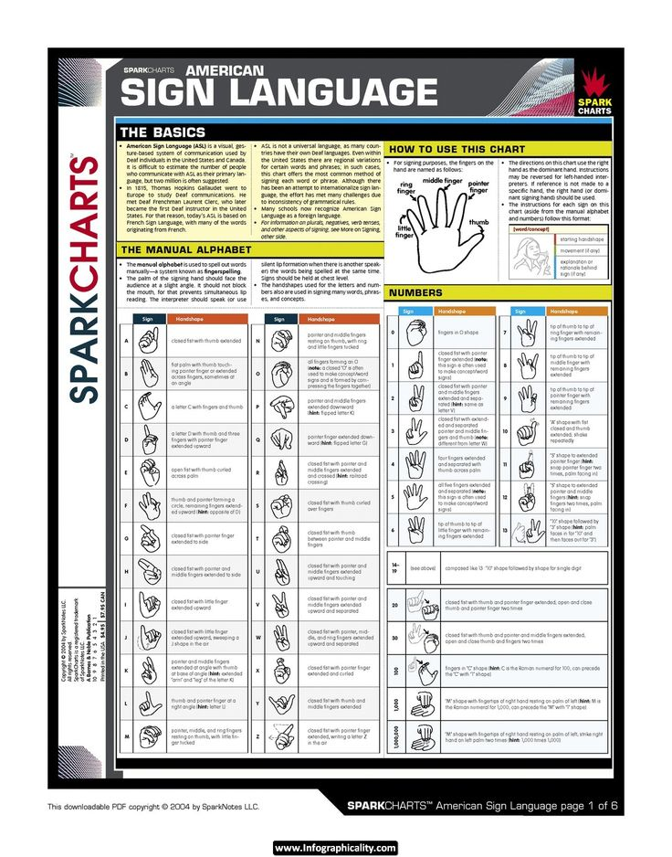 124 best american sign language images on pinterest american sign language sparkchart 1 of 6 alphabet and numbers learning aslforeign fandeluxe Gallery