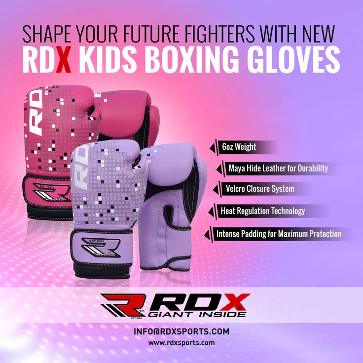 Shape Your Future Fighters With New Kids Boxing Gloves