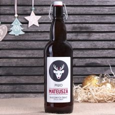 Piwo personalizowane RENIFER idealny na urodziny
