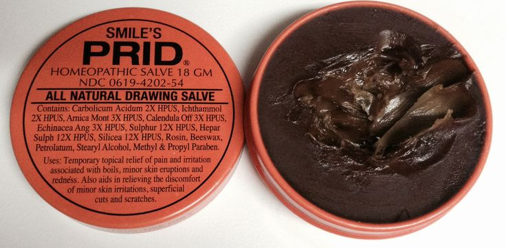 SMILE'S PRID all natural drawing salve.  This stuff does't smell good and looks like tar but works wonders. Great for pimples and stubborn bumps that will not go away. Put a little on and then cover with a Band-Aid, keep doing this every night till it's gone.