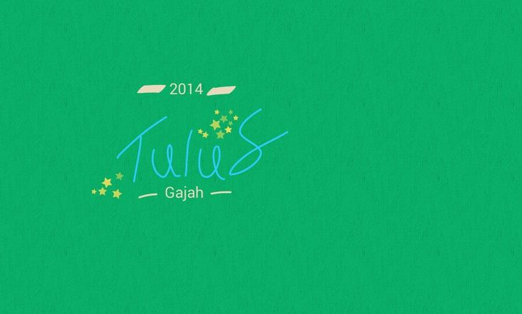 Tulus my favourite band of the year also his album Gajah.