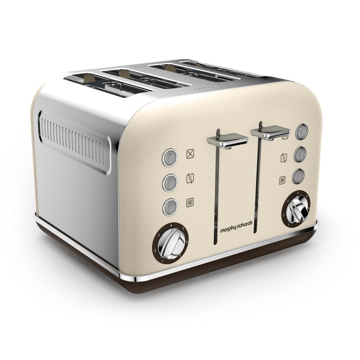 Celebrating our 80th anniversary, the Accents 4 slice toasters are available for a limited time in 3 special edition colours. Sand, shown here, is a subtle cream appliance to bring easy-on-the-eyes earthiness to your kitchen.