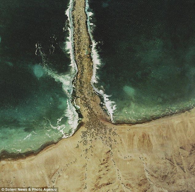 """James Dive's """"God's eye view"""" project uses google earth + 3D modeling to recreate biblical scenes as seen from space."""