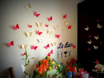 de jolis papillons de papier multicolores pour égayer votre mariage, L'Heure d'été