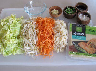 For the Love of Cooking » Baked Vegetable Egg Rolls - I've ...
