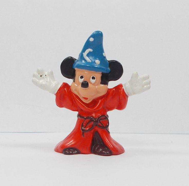 (1) Mickey Mouse - Fantasia Mini Toy Figure - Disney - Cake Topper - Bullyland