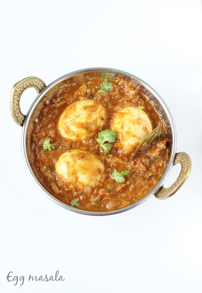 egg curry recipe for biryani chapathi