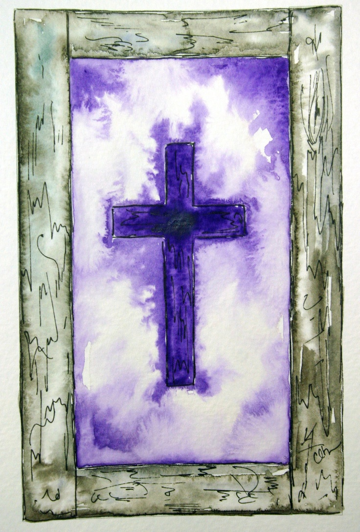 60 Best A Watercolor Crosses Images On Pinterest Crosses Biblical