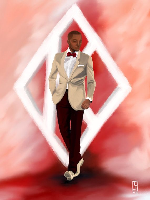 Kappa Alpha Psi art by Lindsey Jordan