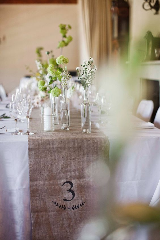 numéro de tables décoration