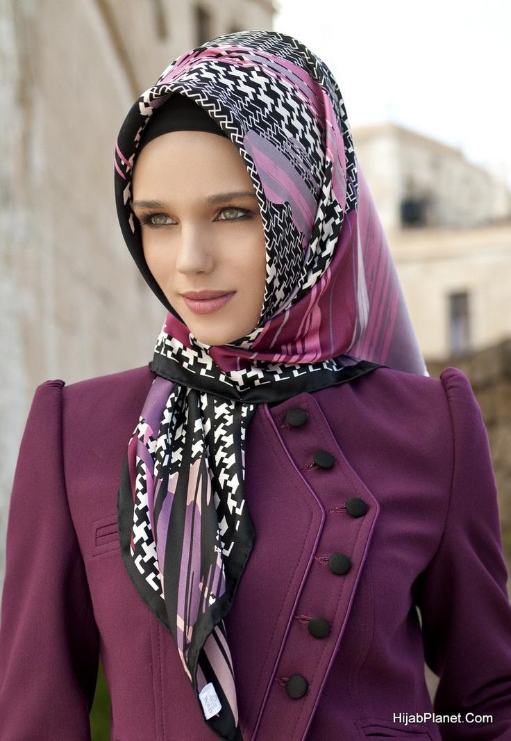 Loving these colors.. HijabPlanet.Com - Armine Tahirah Silk Hijab, (http://www.hijabplanet.com/products/armine-tahirah-silk-hijab.html)