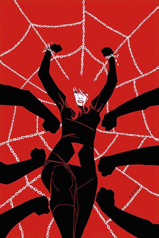 "extraordinarycomics: ""Black Widow by Phil Noto. """