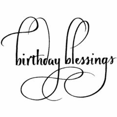 Birthday Blessings, The Stamp Simply Ribbon Store