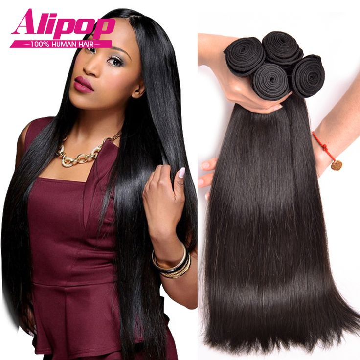 8A Peruvian Virgin Hair Straight 4 Bundles Peruvian Straight Hair Unprocessed Peruvian Straight Virgin Hair Human Hair Bundles