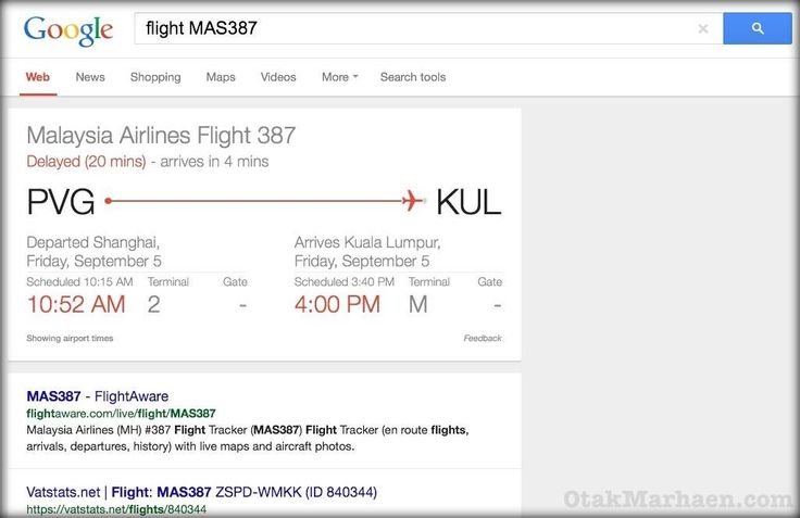 Awesome tricks google flight details