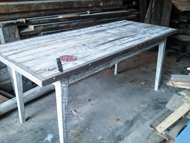 bench wood great barn board kitchen table plans