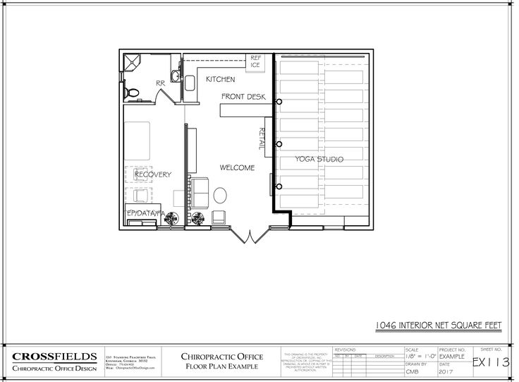 132 Best Chiropractic Floor Plans Images On Pinterest