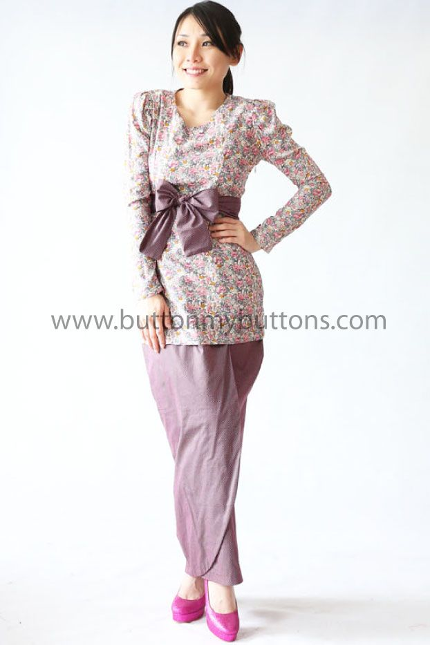 Miss Purple Forest | Button My Buttons by Shahida Shariff