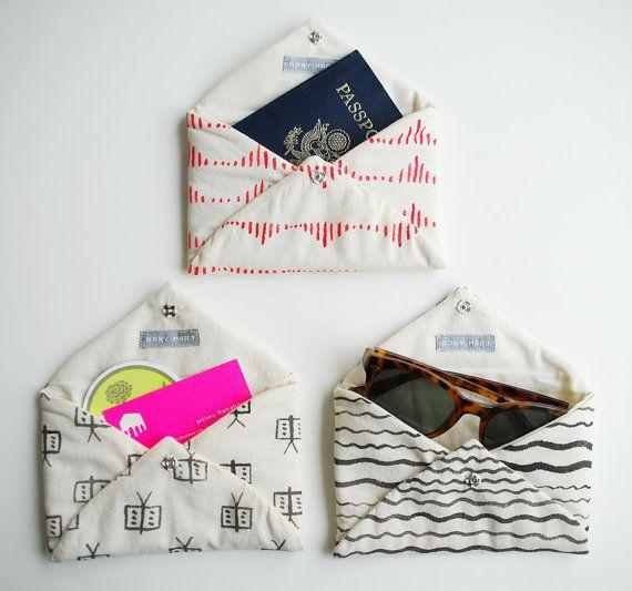 Tudo em ordem com envelope de tecido | COPY