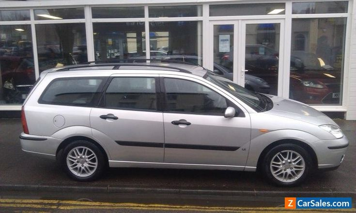 2003 ford focus 1.8 zetec 5dr estate. start and drives. sold as spares or repair #ford #focus #forsale #unitedkingdom