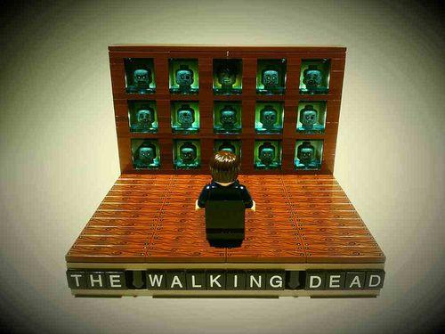 """""""The Walking Dead"""" Lego"""
