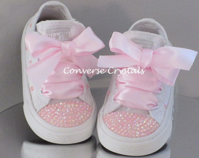 New Customised Crystal Mono Converse Infant