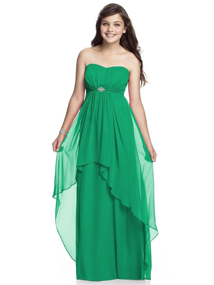 Junior Bridesmaid Dress JR527 http://www.dessy.com/dresses/junior-bridesmaid/jr527/