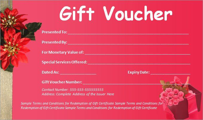 Blank Voucher Templates 18 Free Printable Word Excel Pdf Samples Gift Certificate Template Word Gift Certificate Template Voucher Template Free