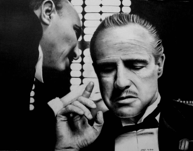 Marlon+Brando+-+The+Godfather+by+Doctor-Pencil.deviantart ...