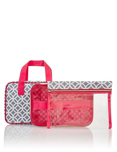 Grace Smoke Geometric Folding Beauty Bag  1c62b0de801ff