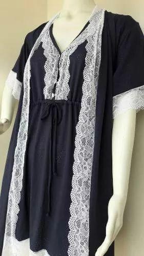 camisola e hobe gestante e amamentação tecido leve  e macio