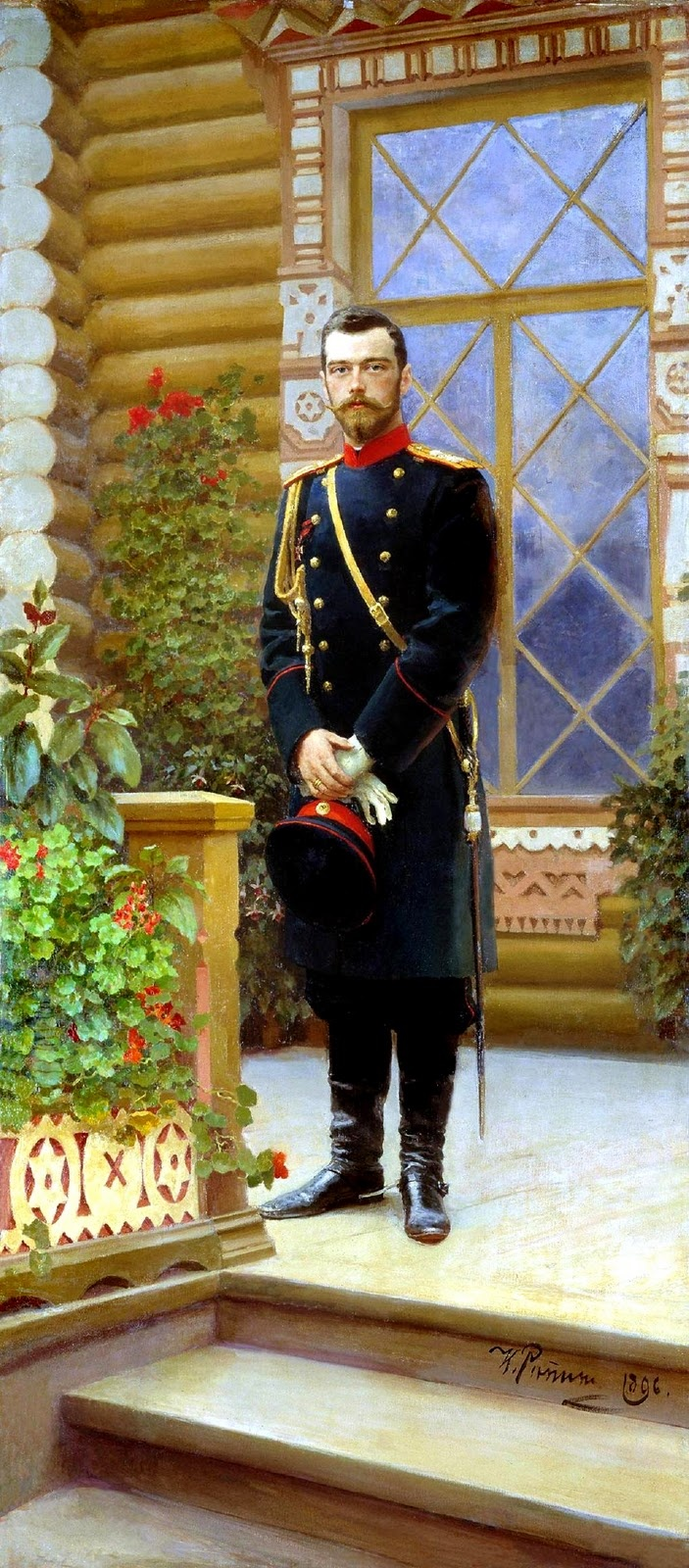 One of my favorite (if not my favorite) historical figures, Tsar Nicholas II, by one of my favorite painters, Ilya Repin