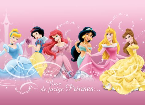 Verras de jarige meid met een kaart met haar favoriete Dinsey-prinsessen van Hallmark Cards. #hallmark #disney #prinses