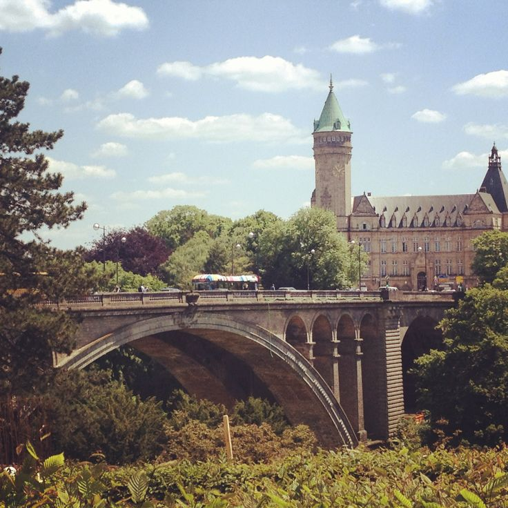 Luxembourg in the summerRe-pinned by #Europass