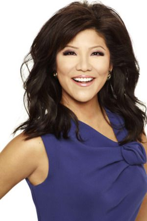julie chen.. I honestly think she is one of the prettiest women on daytime television. She speaks with honesty and I'm absolutely in love with her hair!