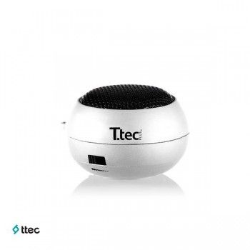 Ttec S502 Taşınabilir Mini Hoparlör Beyaz