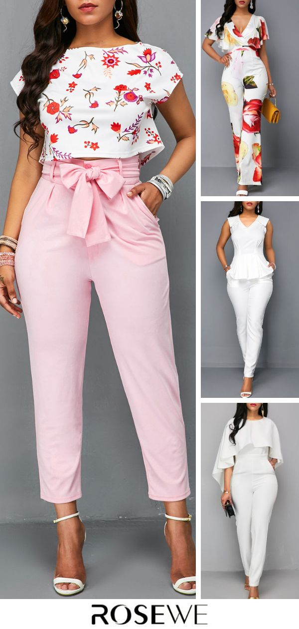 Hot Sale & Free Shipping. Add sweet style to your jumpsuit collection with the W…