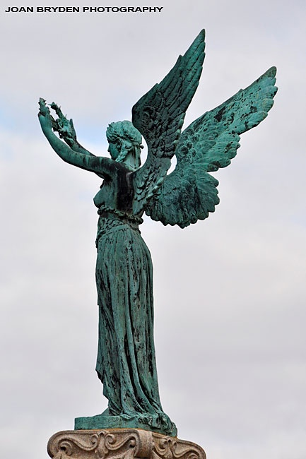 The Black Angel: A Boer War Memorial, Penrith, Cumbria