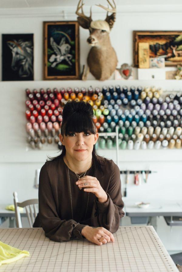 PORTLAND MADE INTERVIEW MICHELLE LESNIAK  FASHION DESIGNER, FINALIST ON PROJECT RUNWAY