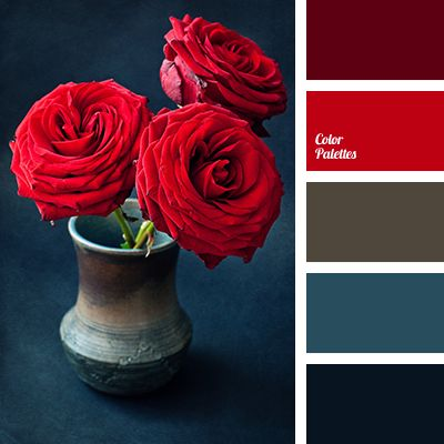 25 best ideas about red color palettes on pinterest red - Red black color combination ...