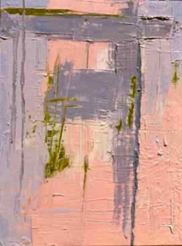 'Grass I' by Wanda Jeanne Kavanagh Oil Painting 2000 Size: 61 H x 46 W x 4 cm
