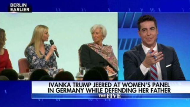 A Fox News host who was accused of making an inappropriate sexual remark about Ivanka Trump has announced he is taking a vacation.