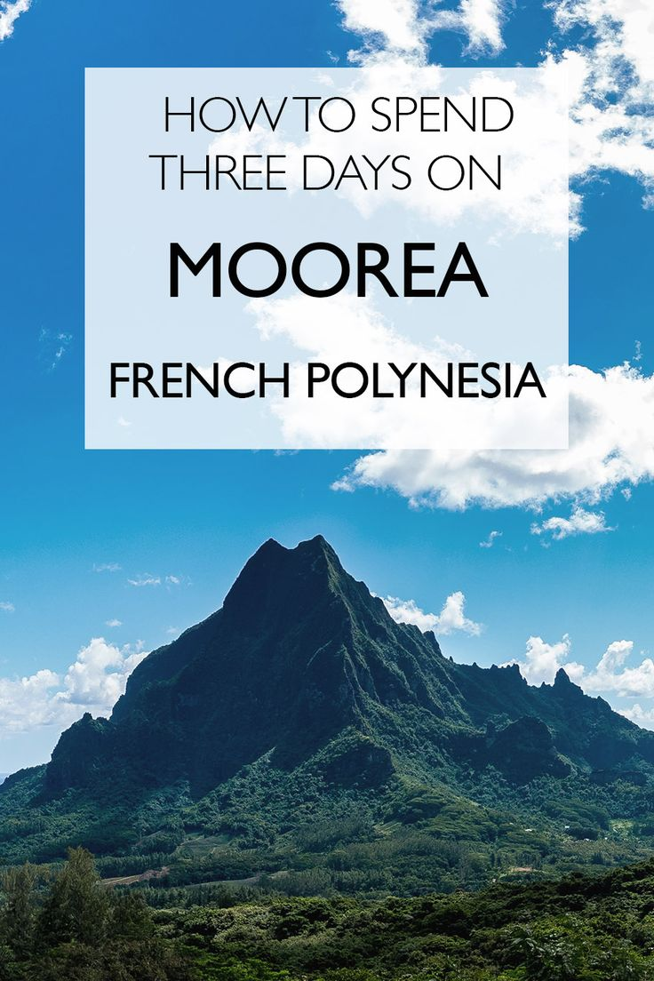 How to Spend Three Days on Moorea, French Polynesia | Moorea Itinerary | Things To Do On Moorea | Tahiti