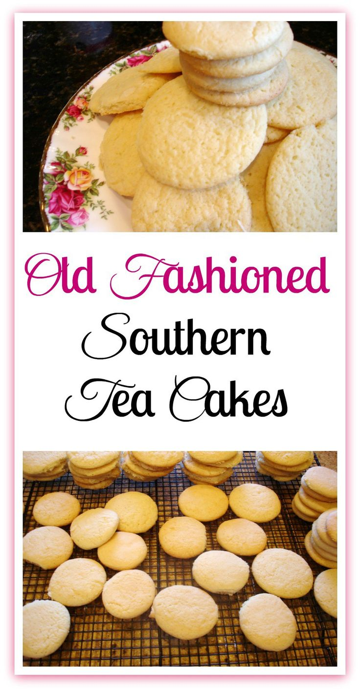 Southern Tea Cakes. An old fashioned recipe, handed down for generations, made with simple ingredients.