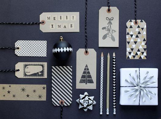 http://decor8blog.com/2012/11/19/black-white-holiday-decorating-ideas via http://papermashblog.com/