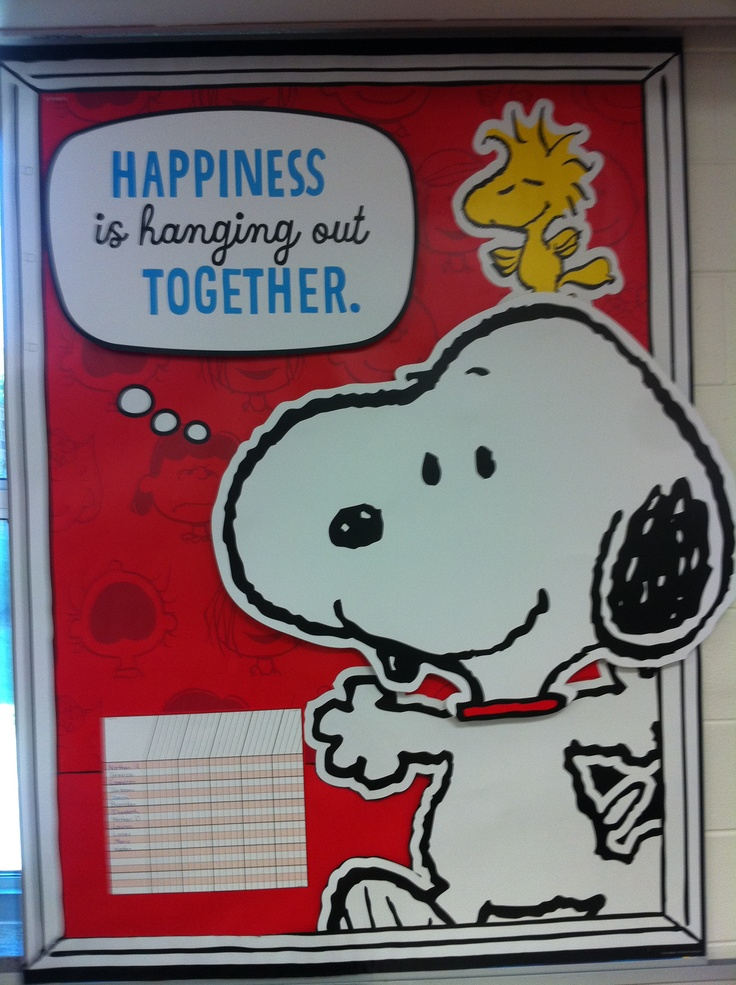 Top 25+ best Snoopy classroom ideas on Pinterest   School ...