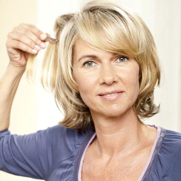 Frisuren Frauen Ab 50 Mittellang Best Of Frisuren Ab 50 Vorher Nachher Frisur In 2020 Natural Hair Styles Easy Hair Makeover New Hair